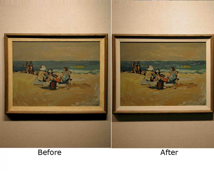 Fine Art & Painting Restoration and Framing Services at Gallery in