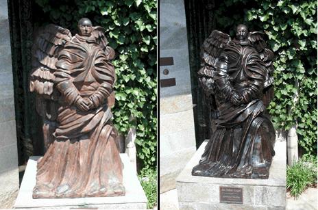 art-rest-statue