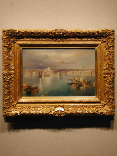 Painting by Thomas Moran - OKC Art Gallery